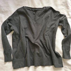 Mango Grauer Basic Pullover Blogger