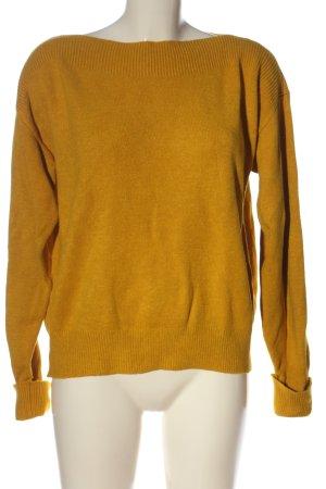 Mango Sweter z grubej dzianiny jasny pomarańczowy W stylu casual