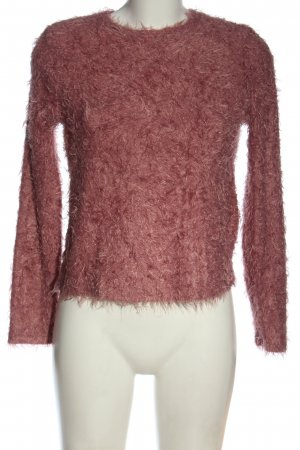 Mango Grobstrickpullover pink Casual-Look