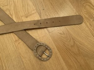 MNG Cinturón de cadera beige-crema