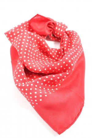 Mango Neckerchief red-white spot pattern casual look