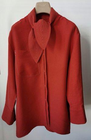 Mango Camicia a maniche lunghe rosso mattone