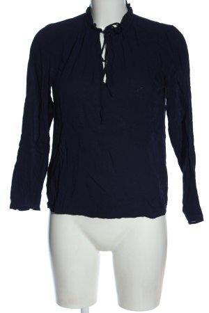 Mango Hemd-Bluse blau Casual-Look