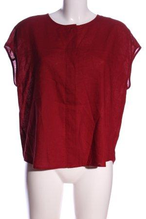 Mango Hemd-Bluse rot Casual-Look