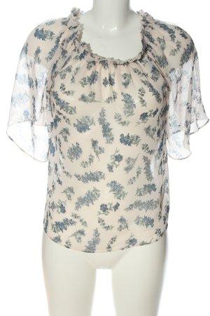 Mango Hemd-Bluse Blumenmuster Casual-Look