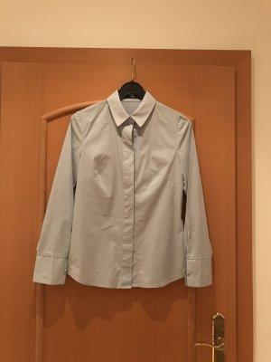Mango Blusa-camisa azul celeste