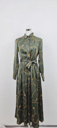 Mango/ Hemdblusen Kleid/ Größe M/ Grün