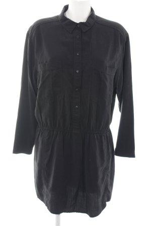 Mango Abito blusa camicia nero stile casual