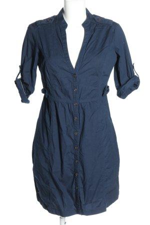 Mango Shirtwaist dress blue casual look