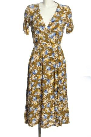 Mango Robe chemise motif abstrait style décontracté