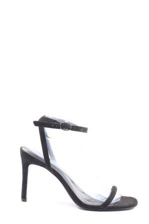 Mango High Heel Sandaletten schwarz Elegant