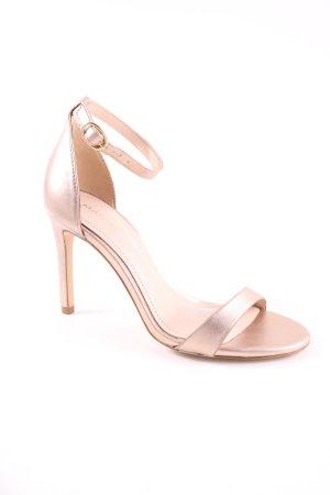 Mango High Heel Sandaletten creme Business-Look