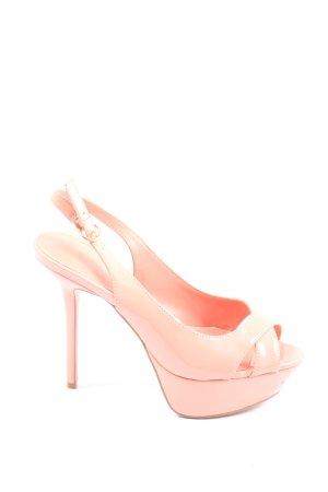 Mango High Heel Sandaletten pink Elegant