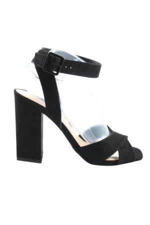 Mango High Heels schwarz Casual-Look