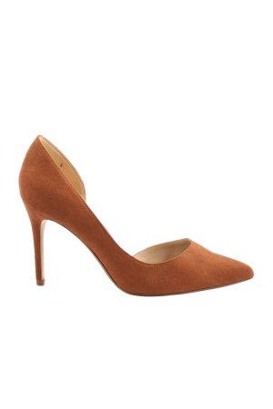 Mango High Heels braun Business-Look