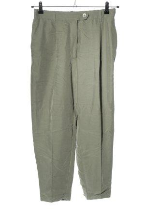 Mango Pantalon taille haute gris clair style décontracté