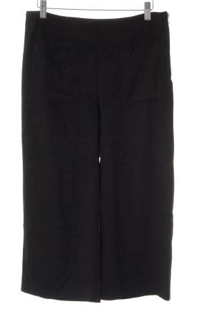 Mango High-Waist Hose schwarz schlichter Stil
