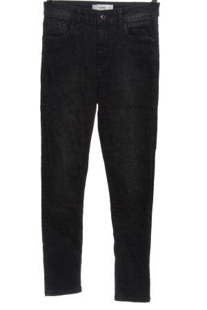 Mango High Waist Jeans schwarz Casual-Look