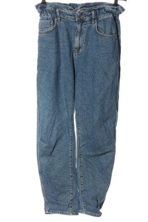 Mango High Waist Jeans blue casual look