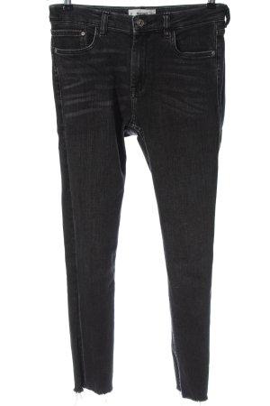 Mango High Waist Jeans hellgrau Casual-Look