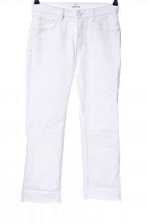 Mango High Waist Jeans weiß Casual-Look