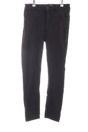 Mango Hoge taille jeans zwart casual uitstraling