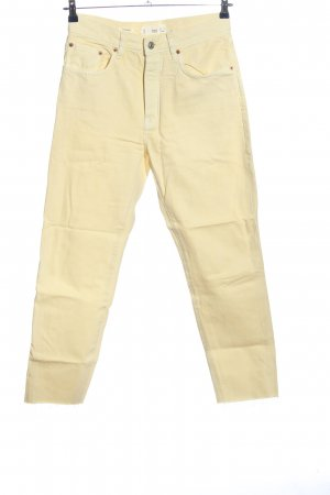 Mango High Waist Jeans wollweiß Casual-Look