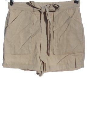 Mango High-Waist-Shorts wollweiß Casual-Look