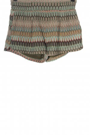 Mango High-Waist-Shorts grafisches Muster Casual-Look