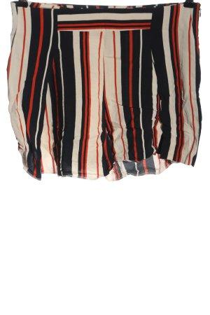 Mango High-Waist-Shorts Streifenmuster Casual-Look