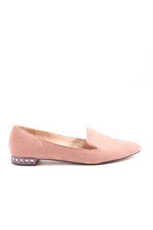 Mango Ballerinas mit Spitze pink Casual-Look