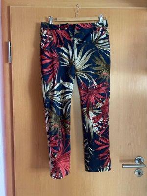 Mango Basics 7/8 Length Trousers multicolored cotton
