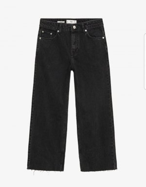 Mango 7/8 Length Jeans black