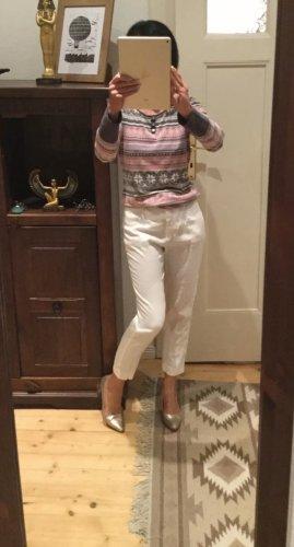 Mango 3/4 Length Trousers white