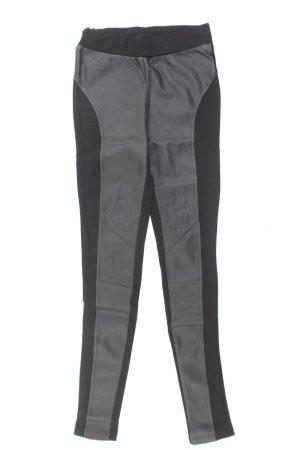 Mango Hose Größe 36 schwarz aus Polyester