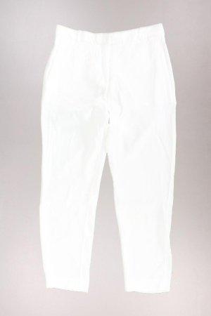 Mango Hose Größe 36 weiß aus Baumwolle