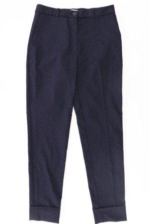 Mango Spodnie niebieski-niebieski neonowy-ciemnoniebieski-błękitny Poliester