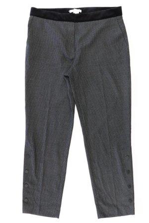 Mango Trousers black polyester