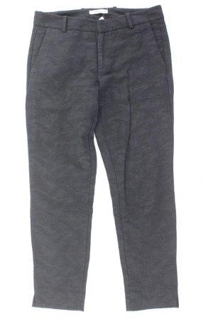 Mango Trousers black cotton