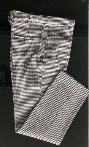 Mango Chinos white-black