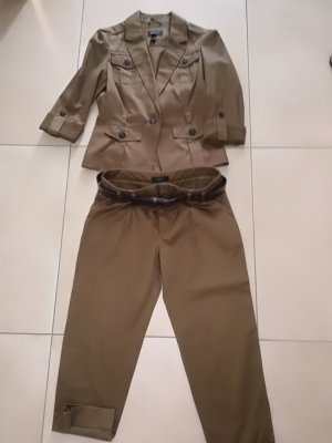 Mango Trouser Suit olive green-khaki