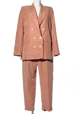 Mango Tailleur-pantalon rose chair style d'affaires