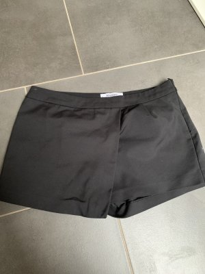 Mango Pantalon en jersey noir