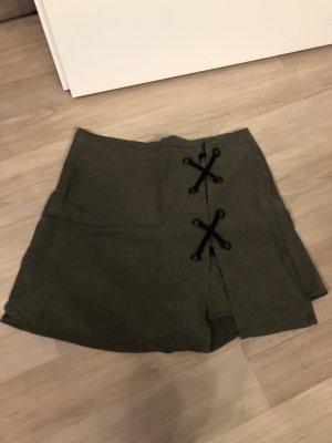 Mango Culotte Skirt olive green-khaki