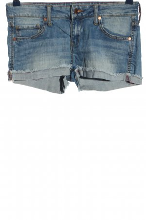 Mango Hot Pants blue casual look