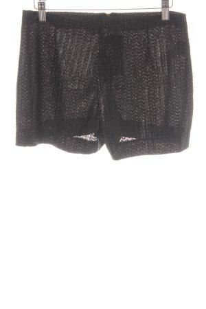 Mango Hot Pants schwarz extravaganter Stil