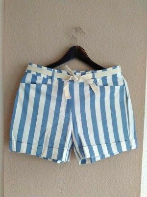 Mango hübsche gestreifte Shorts aus Baumwolle, Grösse 38, neu