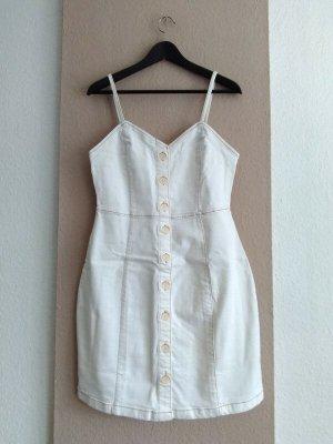 Mango hübsches Jeans-Trägerkleid aus 99% Baumwolle, Größe M, neu
