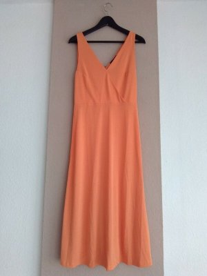 Mango Midi Dress orange-light orange modal fibre