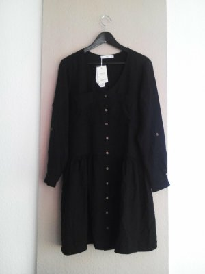 Mango hübsches Minikleid in schwarz aus 100% Lyocell, Grösse M